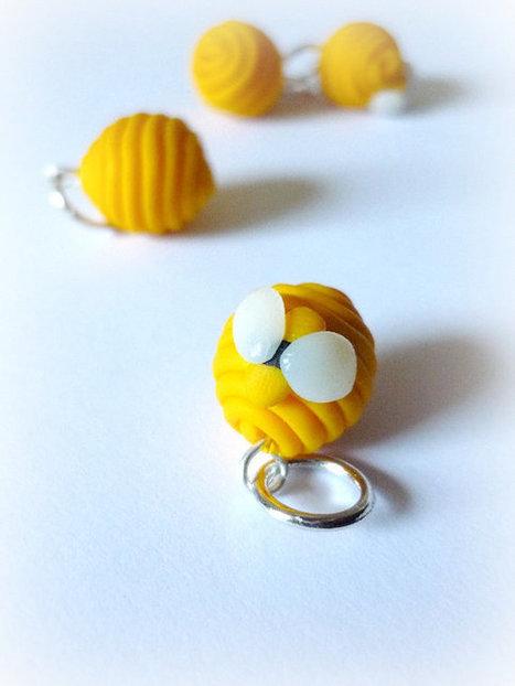 Beehive stitch markers, bees, set of 4 - UK seller   Fiber Arts   Scoop.it