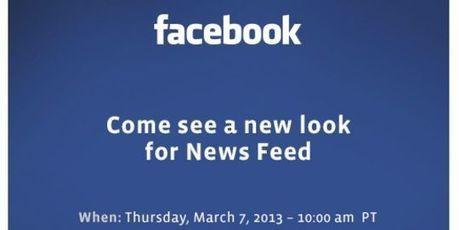 Une nouvelle version de Facebook présentée le 7 mars | Media, digital and communication | Scoop.it