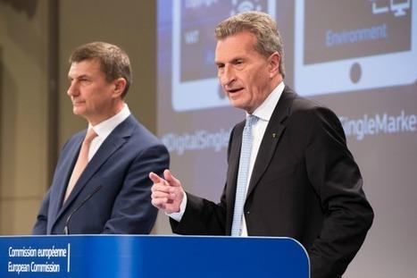 Le marché unique numérique prend du retard | UseNum - Europe | Scoop.it