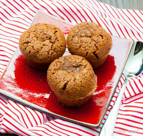 Recette sans gluten : petits moelleux chocolat / amande | Blog ... | chocolat | Scoop.it