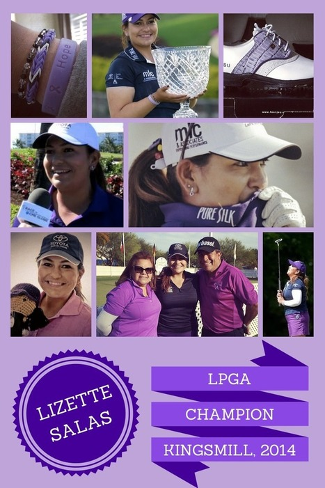 Golf Girl's Diary: Talent, Story & Spirit Make Lizette Salas a Most Marketable Athlete | GolfNumberOne Canary Islands Golf trips | Scoop.it