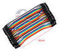 40pcs 10cm Male To Male Dupont Wire Jumper Cable for Arduino Breadboard | Raspberry Pi | Scoop.it