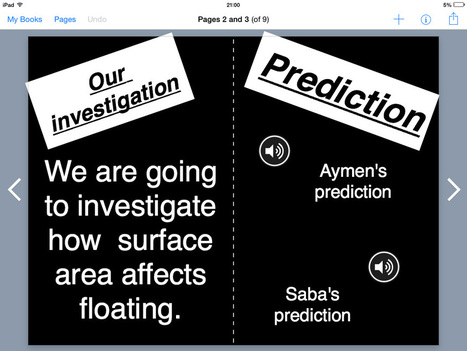 Writing up a science experiment with Book Creator - Book Creator app   Blog   21st Century Skills   Scoop.it