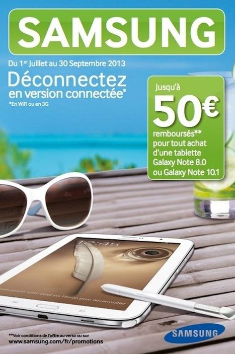 Tablette SAMSUNG Galaxy Note 8.0 16 go à 329€ au lieu de 349€ | Les bons Plans de tablettes Android | Scoop.it