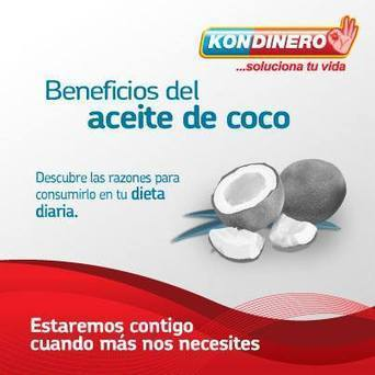Beneficios del aceite de coco | Kondinero | Kondinero | Scoop.it