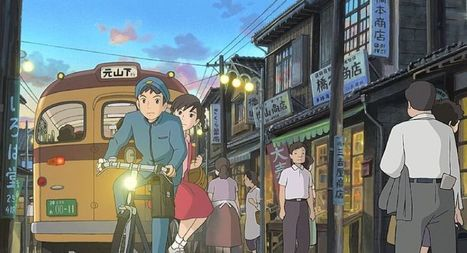 Movie review: 'From Up on Poppy Hill' charming Japanese animation film - Pittsburgh Post Gazette | Machinimania | Scoop.it