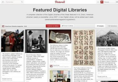 7 usages de Pinterest en bibliothèque - Vagabondages | bibliotheques, de l'air | Scoop.it
