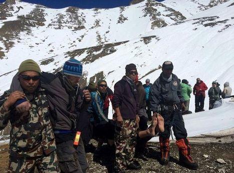 Népal: la tempête de neige meurtrière, un «avertissement» pour les agences et trekkeurs | Randonnée et de l'escalade. | Scoop.it