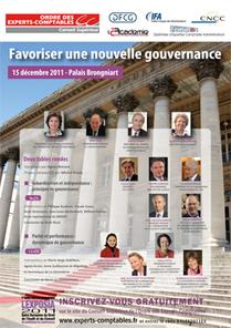 Inscrivez vous gratuitement aux conférences organisées le 15 décembre par le Conseil Supérieur de l'Ordre des Experts-Comptables : comment favoriser une nouvelle gouvernance ! | Blog de l'UFCA | Nouveaux paradigmes | Scoop.it