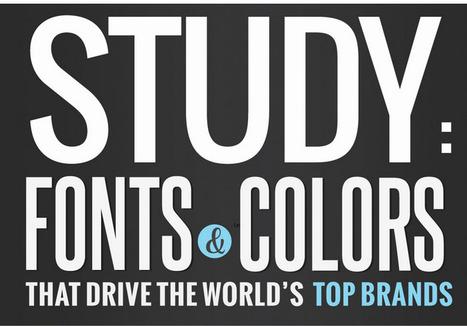 Fuentes tipográficas y colores que dominan el mundo de las mejores marcas | Cristian Monroy | community manager tips | Scoop.it
