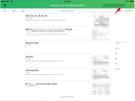 Evernote Is My EMR. And My EMR is Godlike … | The Health Care Blog | Health IT and mHealth News | Scoop.it