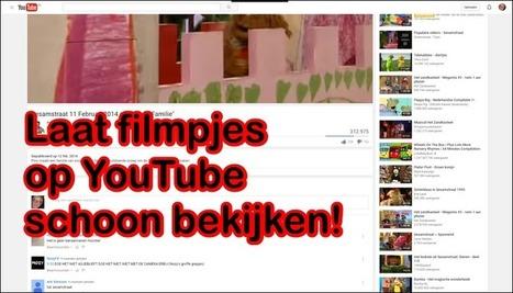 Edu-Curator: 4 Tooltjes om'YouTube'-filmpjes te laten bekijken zonder afleiding | Mediawijsheid PO | Scoop.it