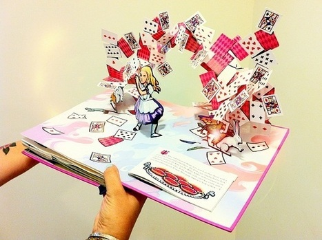 Pop-ups books - kirigami ~ Cheiro dos Livros | Kirigami | Scoop.it