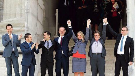 A la Une: la décision de la Cour suprême américaine sur le mariage gay | bambou148 | Scoop.it