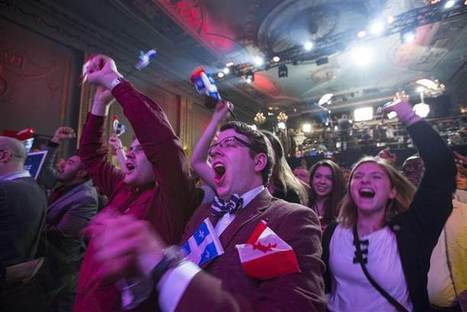 Quebec Voters Say 'Non' to Separatists | Human Geography Too | Scoop.it