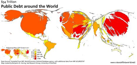 GlobalDebt2011shares.jpg (1500x712 pixels) | AP HUMAN GEOGRAPHY DIGITAL  STUDY: MIKE BUSARELLO | Scoop.it