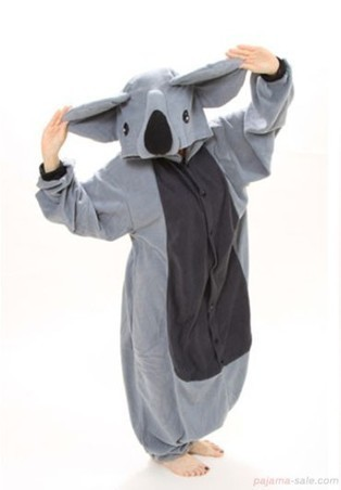 Adult onesies Big Ear Koala animal onesies | adult onesies sale-pajama.com | Scoop.it