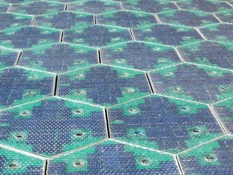 Carreteras de paneles solares | Infraestructura Sostenible | Scoop.it