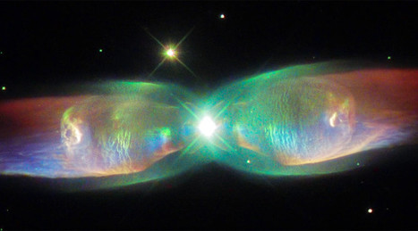 'Butterfly nebula': Hubble Telescope captures images of two stars, dust in wing formation | Natural History, Environment, & Science | Scoop.it