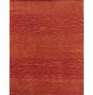 Rugsville Clouds Rust Wool & Silk Rug 13061 - MODERN | Modern Area Rugs | Scoop.it