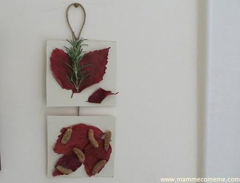 Lavoretti dell'autunno: quadro di foglie | Lavoretti | Scoop.it