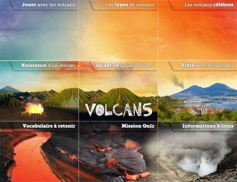 Les volcans | Des jeux autorisés au CDI | Scoop.it