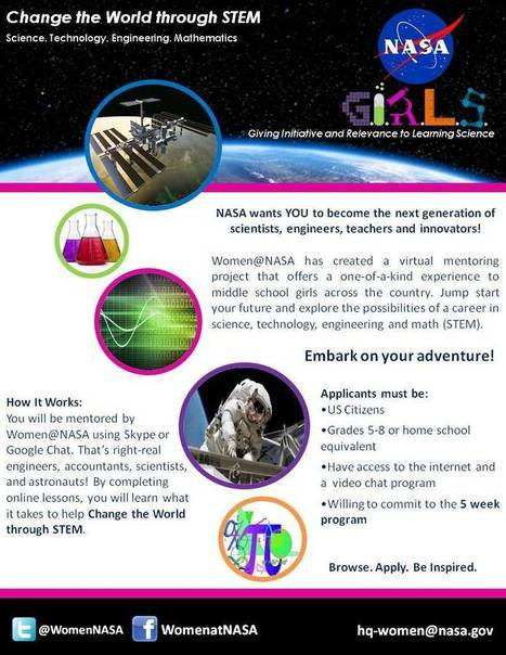 Women@NASA » NASA G.I.R.L.S. | Girls and STEAM | Scoop.it