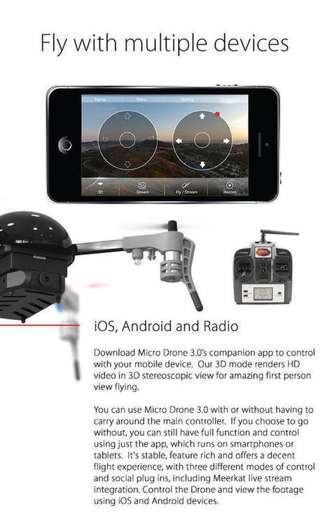 Le Micro Drone 3.0 est modulaire et personnalisable | Une nouvelle civilisation de Robots | Scoop.it