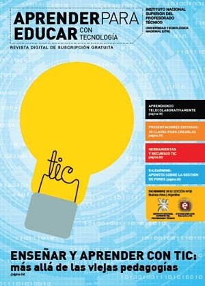 La segunda edición de la revista: Aprender para Educar con Tecnología.-   Nuevos proyectos en educación   Scoop.it