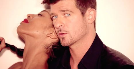 """Will The $7.3 Million Robin Thick """"Blurred Lines"""" Verdict Kill Songwriting As We Know It? 