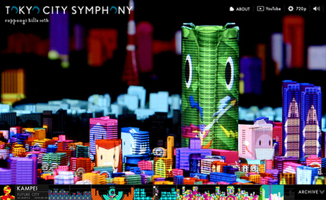 Creative Review - Create your own 3D projection mapping on Tokyo skyline | Matmi Staff finds... | Scoop.it
