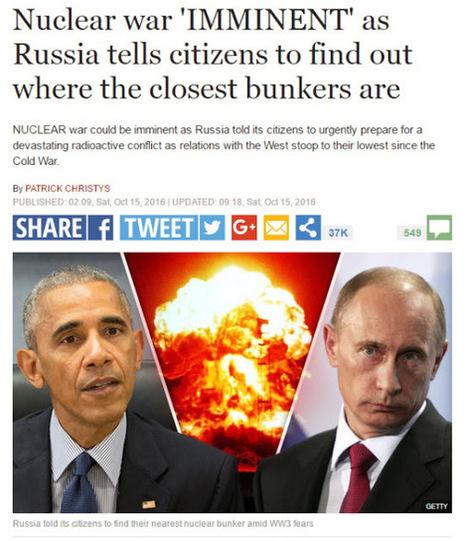 Occidente calla ante los planes de su élite gobernante por desatar la guerra mundial | La R-Evolución de ARMAK | Scoop.it