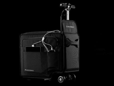 Modobag, la valise motorisée   L'innovation par les usages   Scoop.it