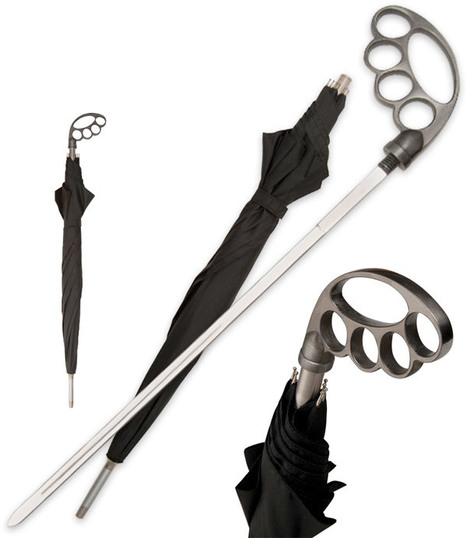 Umbrella Sword Keeps You Dry, Kills Zombies Dead   All Geeks   Scoop.it