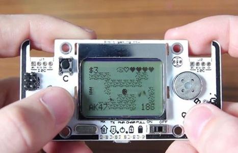 Gamebuino Arduino Handheld Games Console (video) - Geeky gadgets | Raspberry Pi | Scoop.it