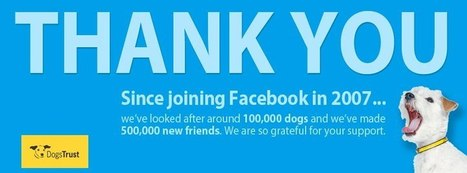 Five Creative Ways To Thank Your Facebook Fans | Nonprofits & Social Media | Scoop.it