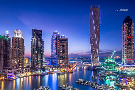Awesome Lights of Dubai Marina   The Best Places in the World to Travel   Scoop.it