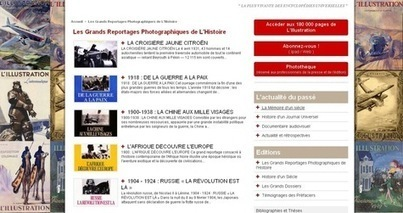 «L'Illustration» accessible en intégralité sur le Web | La-Croix.com | Nos Racines | Scoop.it