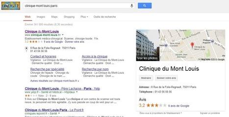 Google affiche une note de satisfaction des médecins et hôpitaux | le monde de la e-santé | Scoop.it