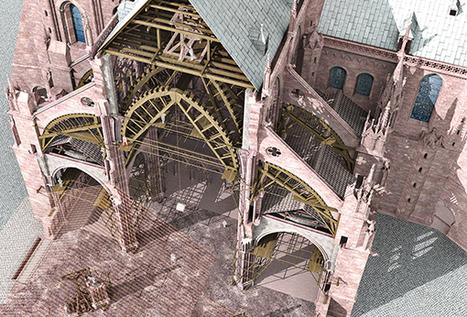Les techniques de construction des bâtisseurs | L'histoire de la cathédrale | Fondation de l'Œuvre Notre-Dame | Enseñar Geografía e Historia en Secundaria | Scoop.it
