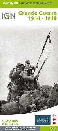L'IGN édite la carte de la Grande Guerre 1914-1918 | Nos Racines | Scoop.it