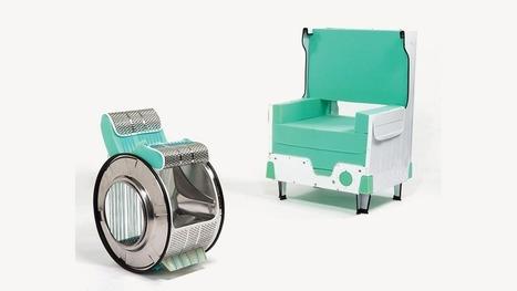 Cómo convertir tu vieja lavadora en muebles de diseño | Diseños y Soluciones | Scoop.it