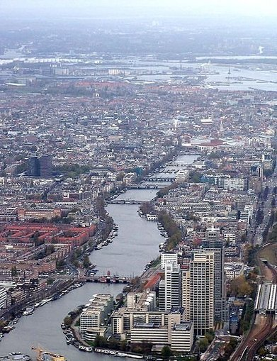 Amsterdam From Above | Cities & Immigration | Scoop.it
