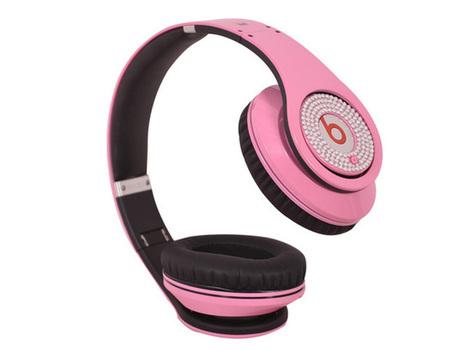 Eye-catching Monster Beats Studio Pink Diamond High-Definition Headphones_hellobeatsdreseller.com | Beats By Dre Electroplating | Scoop.it