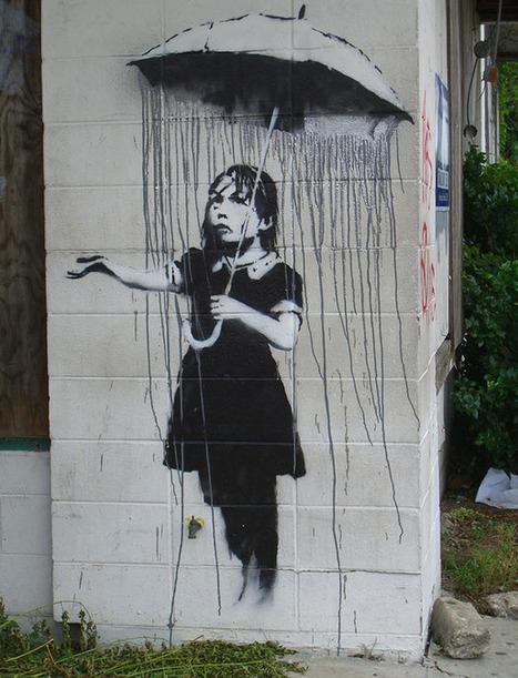 80+ Beautiful Street Crimes done by BANKSY | Bored Panda | Banksy - Street Artist | Scoop.it
