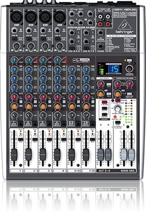 Behringer 1204USB and X1204USB Mixers | Podcasts | Scoop.it
