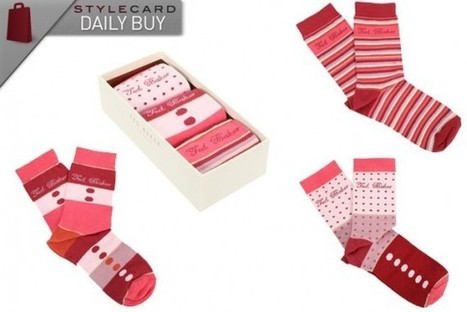 Daily Buy: Ted Baker Assorted Sport 3 Pack Socks | StyleCard Fashion Portal | StyleCard Fashion | Scoop.it