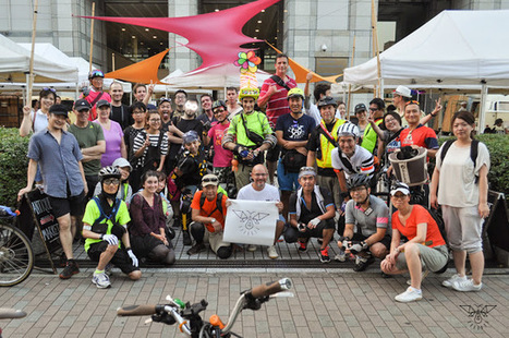 Tokyo Firefly Ride Report and Photos   Tokyo By Bike - Cycling News & Information from Japan   Tokyo By Bike   Scoop.it