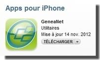 Découvrez GeneaNet pour iPhone ! - Le Blog Généalogie - Toute l'actualité de la généalogie - GeneaNet   Rhit Genealogie   Scoop.it
