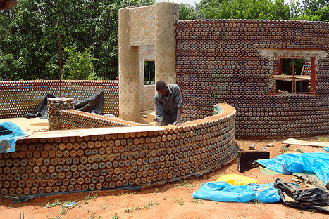 Plastic-Bottle Homes Are Popping Up Around the World | Sustainability by Design | Scoop.it